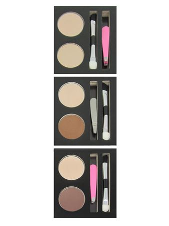 Picture of Duo Deep Brown Brow Grooming Kit