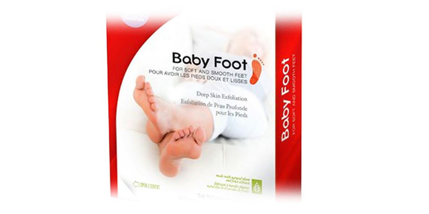 Baby Foot- Safe Foot Exfoliation